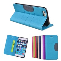 D-S Glitter Power Patterns Leather Case Cover Stand Card Wallet Protective Skin For Apple iPhone 6 iphone6