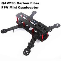 6PCS/Lot Blackout QAV250 Carbon Fiber Mini 250 FPV Quadcopter Frame(Unassembled)