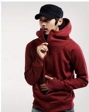 Hot sale Fashion Korean Style Man's Coat Zipper Hoodies Clothing Mens Sport Sweater M-XXL 2014 free shipping hoodies jacket(China (Mainland))