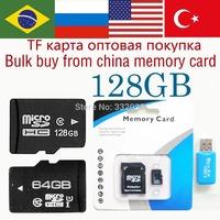 TF Card 128GB Memory card 64gb micro sd card micro sd 128gb class 10 flash card 32gb huge capacity free gift shipping 16gb