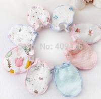 5 pairs Freeshipping Baby Infant Anti-scratch gloves Handguard Mittens Boy Girl Unisex Newborn Kid Gloves ST5