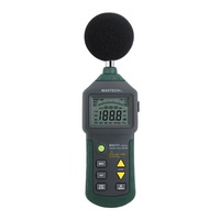 MASTECH MS6701 2000 Counts Autoranging Digital Sound Level Meter Tester (30 to 130dB) with USB Interface