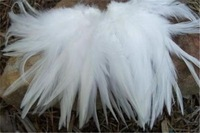 Free Shipping 100pcs/lot White Rooster Feather 4-6 Inches(10-15cm) Clothing jewelry Hat Christmas Holiday Decorative Feather