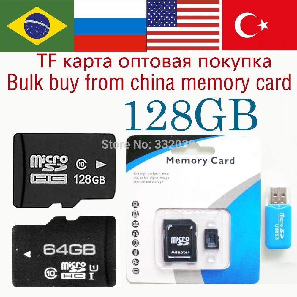 Worldwide Free shipping TF Card 128GB Memory card 64gb micro sd card micro sd 128gb class 10 flash card 32gb huge capacity 128gb(China (Mainland))