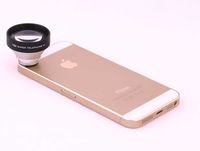 Universal Circle Clip Fisheye 5X Telephoto Lens for  Iphone 6 5 5s Mobile Cell Phone lens