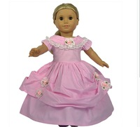 Free shipping American girl clothes girl toy doll clothes fit 45-72CM doll baby's toys doll dress