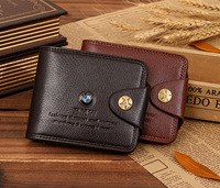 New men's short wallet, retro cross section wallet, the dollar denim purse, free shipping, promotion