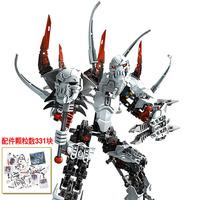 Authentic assembled biochemical warrior robot vision ninja hero factory building blocks toys