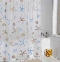Promotion2013 NEW ! 180*180cm PEVA Waterproof Fashion Star Bathroom Shower curtain