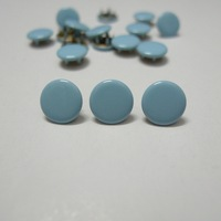 50 Sets 10mm Solid Color #15 BABY BLUE Prym Prong Snap Buttons Oeko-Tex 100 Certificate Approve