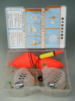 1Set (10 in 1)Trap Hooks Set Carp Fishing Powder Head Swivels Lead Weights Fishing Float Fishing Rigs Fishing Combo