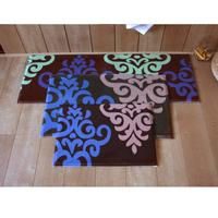 1set=3pcs floor mat 3pcs set long kitchen carpet living room mat hall entrance mat free shipping