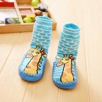 2pairs/lot Autumn baby floor room socks slipper socks kid booties free shipping