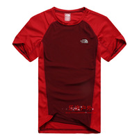 Quick-drying t-shirt outdoor sports Men short-sleeve casual wear quick dry clothing lsl clothing men sportswear box-packed 1452