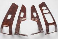 Car Inner Peach Wood dashboard Sticker for Hyundai Elantra 2012-2013