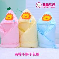 New 2014 Newborn baby blankets supplies 100% cotton baby holds  newborn holds plus cotton Sleeping bags 80*80cm HD4005