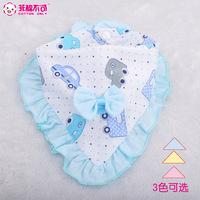 30pc/lot 100% cotton baby Accessories girls baby bibs towel bandanas  cravat infant towel  Waterproof lace bibs
