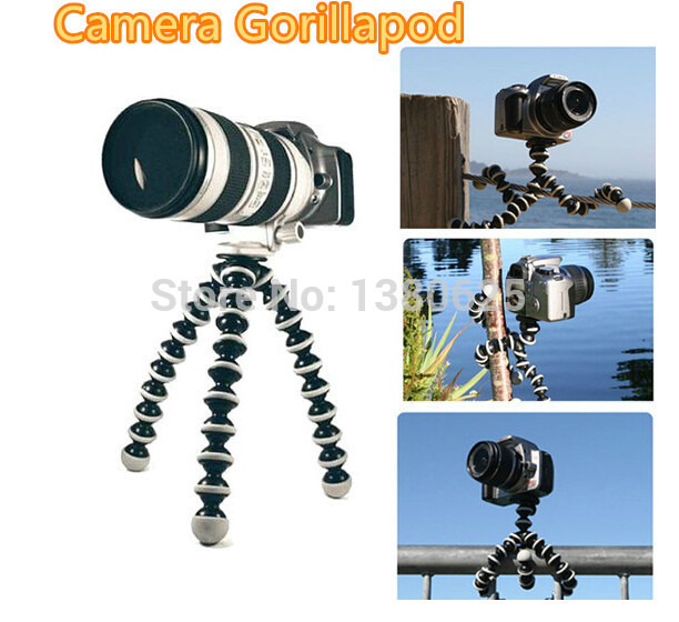 70010 wholesale Flexible Leg Gorillapod Type Mini Tripod for Digital Camera Free shipping(China (Mainland))