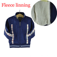 High quality fleece linning coat, 2014 new arrival brand baby boys girls outerwear jackets and coats kids autumn clothing 2-6yrs