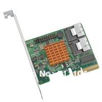 HighPoint RocketRAID 2680 8-Channel PCI-Express x4 SAS 3Gb/s RAID Controller - bulk , Single Packaging