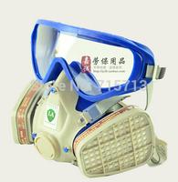 Free shipping Combined gas mask respirator mask protective mask paint splash mask