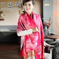 2014 new Bohemian national wind cotton women long scarf shawl