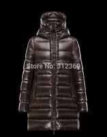 2014 Down Parkas Winter Coat Women Oversized Hooded Women's Long Winter Jacket Girls Long Down Jacket Brand Woman Down Coat