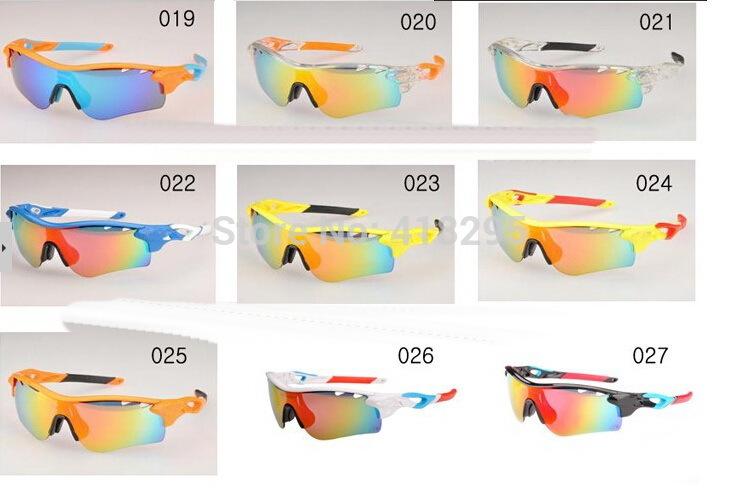 27 frame colors Best quality Radarlock path cycling goggle Sports 5 lens sunglasses polarized radar lock with Retail box(China (Mainland))