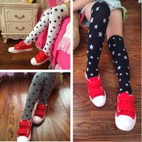10pairs/lot Fashion girl's thigh high socks winter boot socks kid's high stockings free shipping