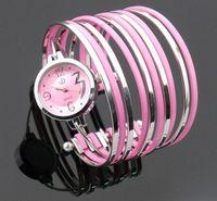 Free shipping wholesale dropship 2013 new hot sale quartz fashion mix color stylish watches women bracelet