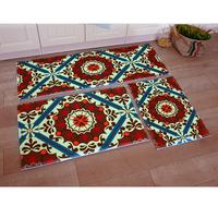 1set=3pcs parlor mat set memory foam corridor mat baby play mat bedside carpet free shipping