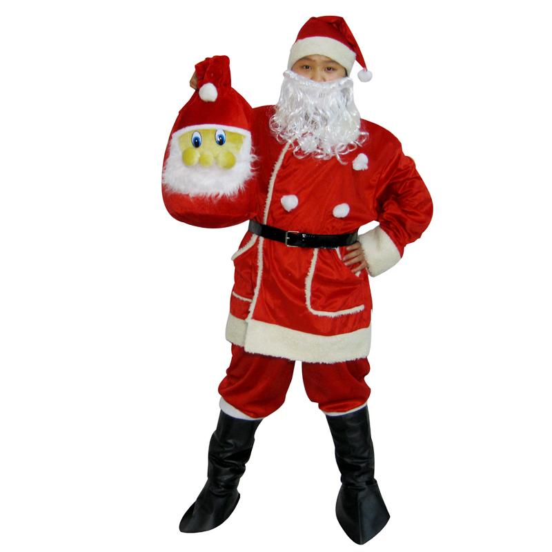 Do Promotion! Free Shipping! High-grade Santa Claus adults dress clothes Santa Claus covered five times (pocket)(China (Mainland))