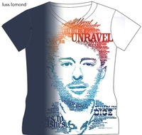 Radiohead Famous Rock Band T-shirt Casual Men 3D tshirts Man Thom Yorke Music t shirt Male Letter Printed  V-neck Men's Clothing