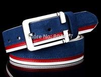 Second layer Cow Genuine leather belt buckle strap belt mens fashion belt male
