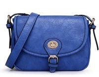 Freeship! New fashion vintage women handbag solid hasp pu leather messenger bag brand designer shoulder bag for girls handbag