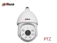 Free Shipping Dahua PTZ network cameras SD card IR 80m speed dome for indoor and outdoor security cameras IP66 cctv cam