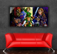 The Legend of Zelda 24x48 inch 60x120cm imitation half handmade oil painting picture photo on CANVAS GHLP03