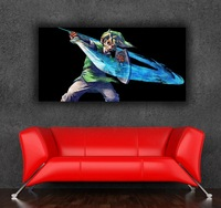 The Legend of Zelda 24x48 inch 60x120cm imitation half handmade oil painting  picture photo on CANVAS GHLP10