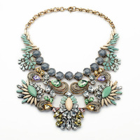 Famous Brand Chunky Necklace 2014 New Arrival Free Shipping
