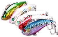 5X Fish Hunter Vibration Fishing Lures DV2B/70mm/18g/ Full Swimming Layer