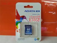 Free shipping! best quality ADATA 128GB SD card/ SDHC card/ camera flash memory card class10/memory card