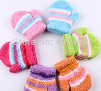 Baby Infant Winter cartoon gloves Handguard Mittens Boy Unisex Newborn Kid Color Gloves For 1-4years ST10