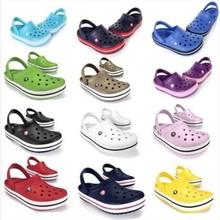 Excelente calidad al por mayor / al por menor unisex EVA mujeres / hombres zapatillas, sandalias de playa Zuecos zapatos frescos flip flop zapatos agujero transpirable(China (Mainland))