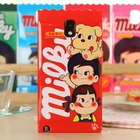 Fujiya Peko Milky boy & girl TPU Soft Rubber Skin Case for Samsung Galaxy Note 3 Protective phone shell for note3