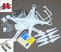 DJI Phantom 2 Vision And DJI Phantom 2 Quadcopter Body Shell+Camera gimbal+Landing Gear+9443 Prop Replacement