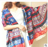 New Arrival 2014  hot sale Bud silk tassel long shawl han edition of the new shawl