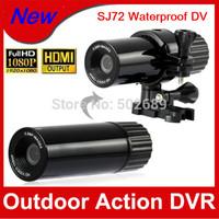 HOT SELL!!! 12MP Full HD 1080p waterproof Camera SJ72 Sport DV DVR Mini Helmet Action Camera Camcorder Free Shipping