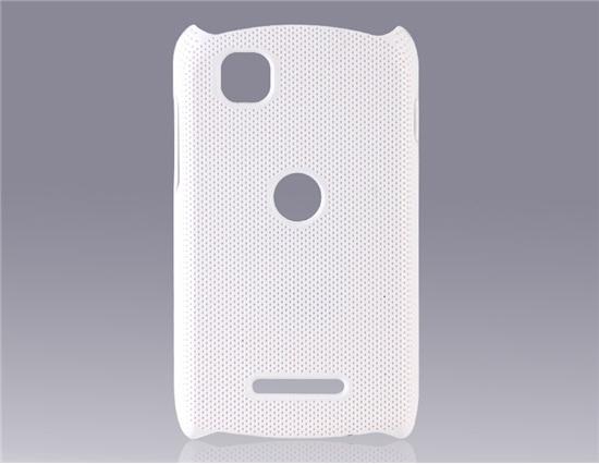 Net Pattern PC Plastic Protective Case for Motorola EX112, EX115 (White)(China (Mainland))