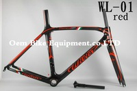 Wholesales ! carbon road bike frame Wilier bike cycling bike frame carbon wheelset BB30 PF30 headset free shipping  Colngo c60