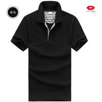 Free shipping wholesale cheap shipping new men's cotton short-sleeved T-shirt Slim / supplier / wholesaler / retailer